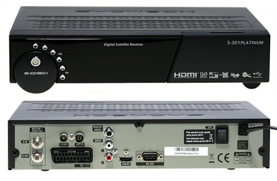 Showbox S-301 Platinum HDMI